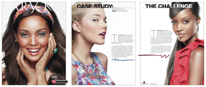 Pages from the Mary Kay Case Study